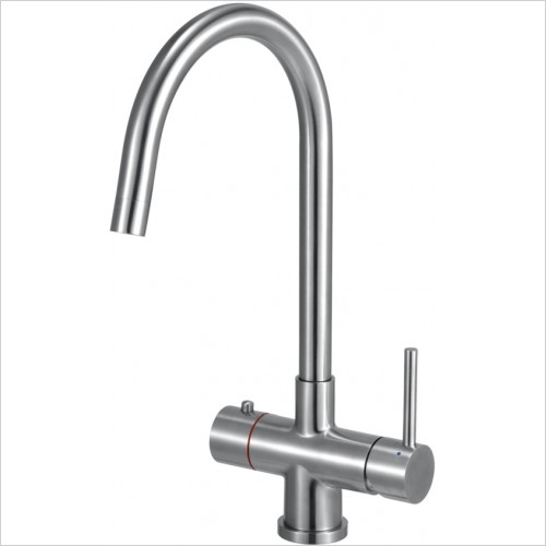 Just Tap Kitchen Sink Mixer - Hot Water Boiling Tap Complete With Filter & Boiler Unit