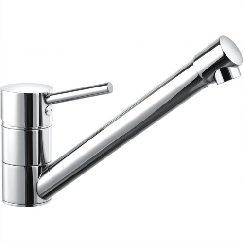 Just Tap Kitchen Sink Mixer - Mix Single Lever Sink Mixer, Swivel Spout