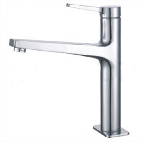 Just Tap Kitchen Sink Mixer - Omega High Neck Single Lever Sink Mixer