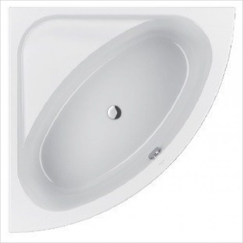 Villeroy & Boch Bath - Loop & Friends Acrylic Duo Corner Bath 1400 x 1400mm