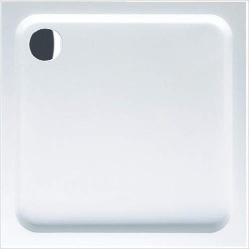 Villeroy & Boch shower tray - O.Novo Square Acrylic Anti Slip Shower Tray 1000 x 1000mm