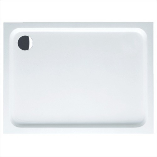 Villeroy & Boch shower tray - O.Novo Rectangle Anti Slip Acrylic Shower Tray 900 x 800mm