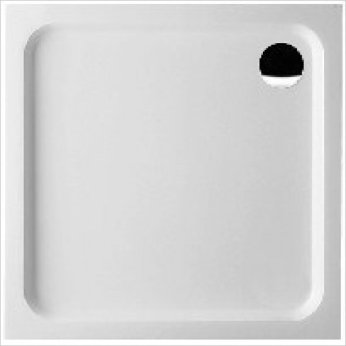 Villeroy & Boch shower tray - Futurion Square Quaryl Shower Tray 800 x 800 x 60mm