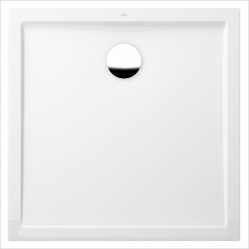 Villeroy & Boch shower tray - Futurion Flat Square Quaryl Shower Tray 900 x 900mm
