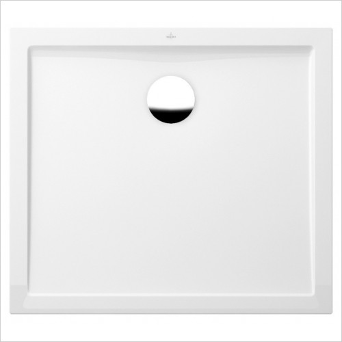 Villeroy & Boch shower tray - Futurion Flat Rectangle Quaryl Shower Tray 1200 x 800mm